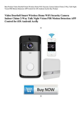 Best Product Video Doorbell Smart Wireless Home WiFi
