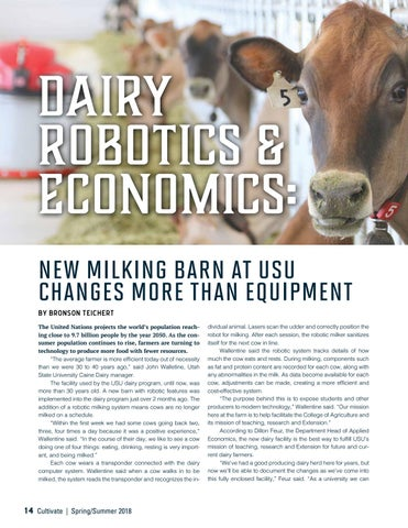 Page 14 of DAIRY ROBOTICS & ECONOMICS: