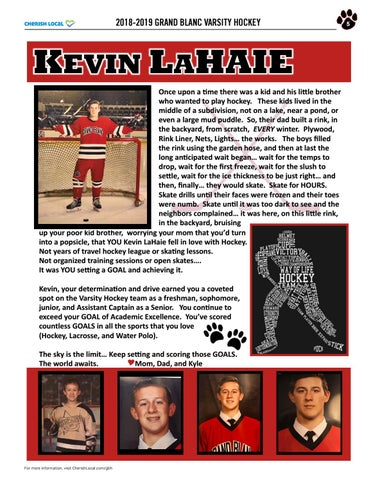 Page 5 of Kevin LaHaie Grand Blanc Hockey