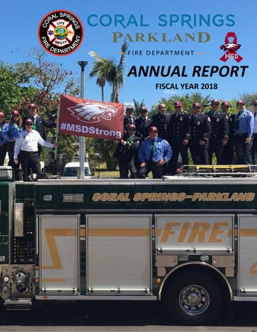 Coral Springs/Parkland Fire Department Annual Report FY 2018 by City