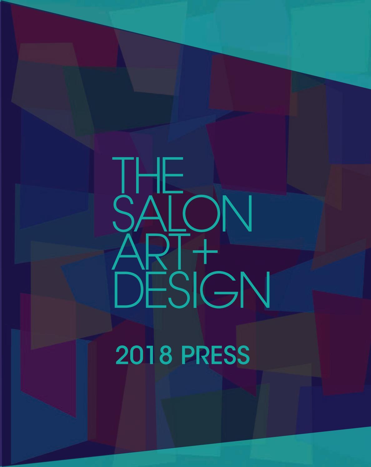 Le Papier Peint Est Il Recyclable the salon art + design 2018 presssanford l. smith +