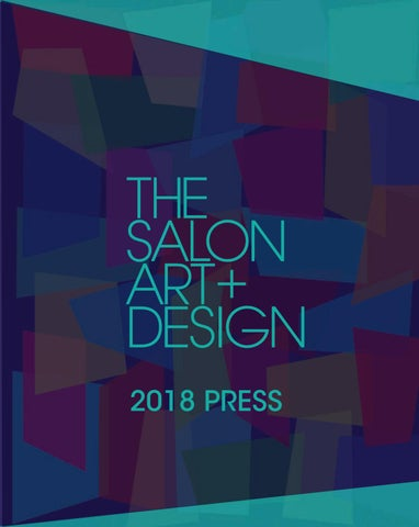 f142ac05aae The Salon Art + Design 2018 Press by Sanford L. Smith + Associates ...