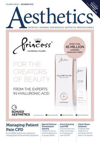 Aesthetics December 2018 by Aesthetics Journal - issuu