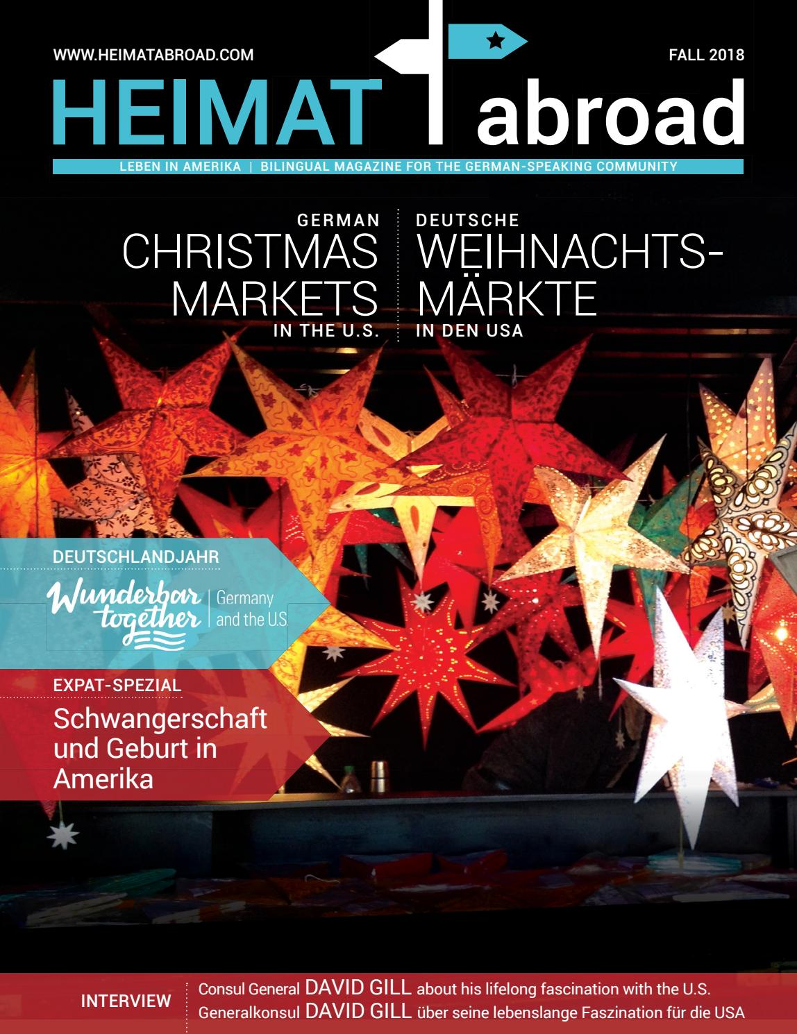 Heimat Abroad Fall Winter 2018 By Heimat Abroad Issuu