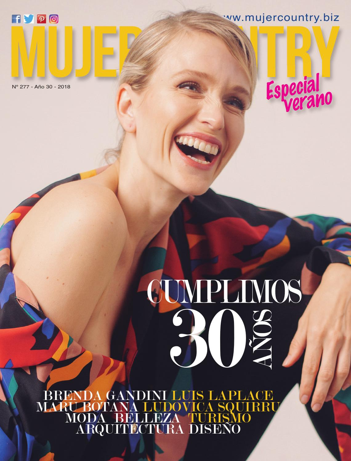 905f0c9d5967 Revista Mujer Country Nº 277 - Diciembre 2018 by MujerCountry ...