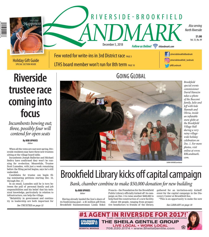 Landmark 120518 By Wednesday Journal Issuu