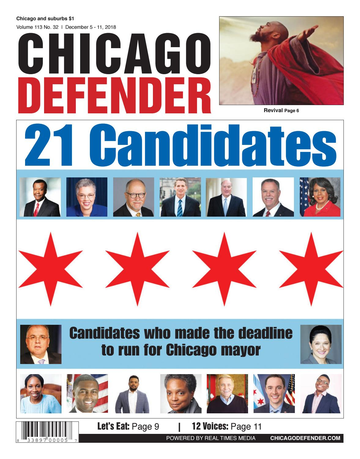 Chicagodefender 12 05 18 By Chidefender Issuu Relay Control Electrical Circuit Design Simulation Software Cadesimu