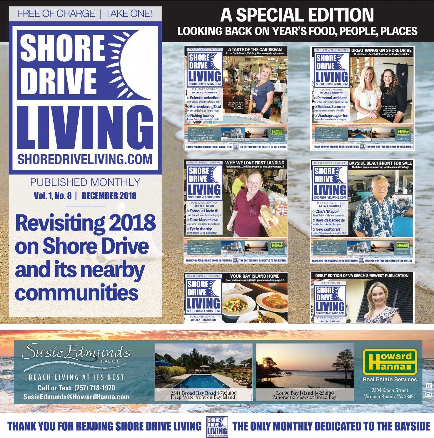 Shore Drive Living, December 2018 by easternshorefirst - issuu