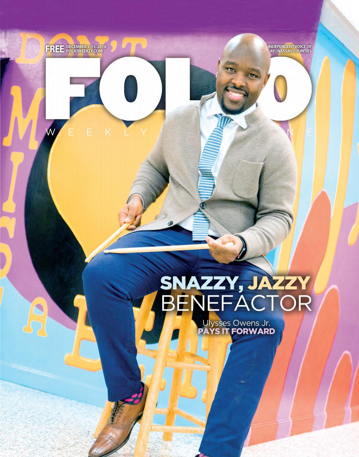 f9d5982de Snazzy, Jazzy Benefactor by Folio Weekly - issuu