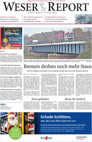 a891e3f26f209 Weser Report - Mitte vom 05.12.2018 by KPS Verlagsgesellschaft mbH ...