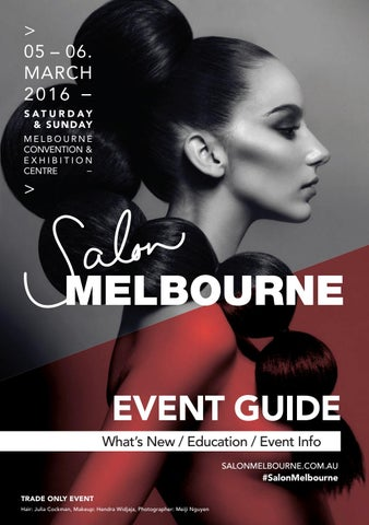920d277832b Salon Melbourne Event Guide 2016 by Reed Exhibitions AU - issuu