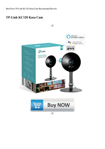 Best Price TP-Link KC120 Kasa Cam Recomended Review by