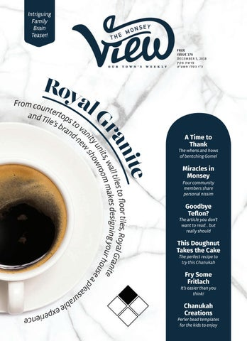ca90337724d Issue 176 by The Monsey View - issuu