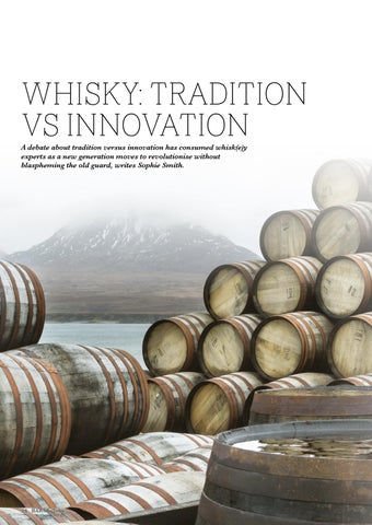Page 24 of WHISKY: TRADITION VS INNOVATION