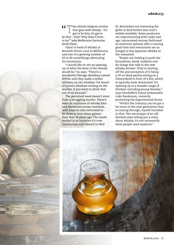 Page 25 of WHISKY: TRADITION VS INNOVATION