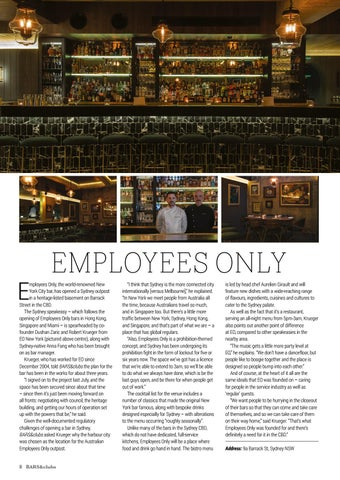Page 8 of OPENINGS: EMPLOYEES ONLY