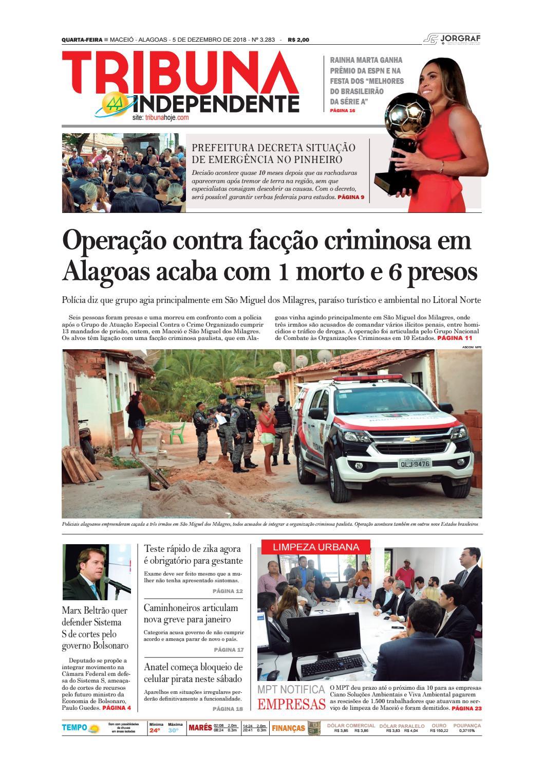 Edição número 3283 - 5 de dezembro de 2018 by Tribuna Hoje - issuu 484c3d2703