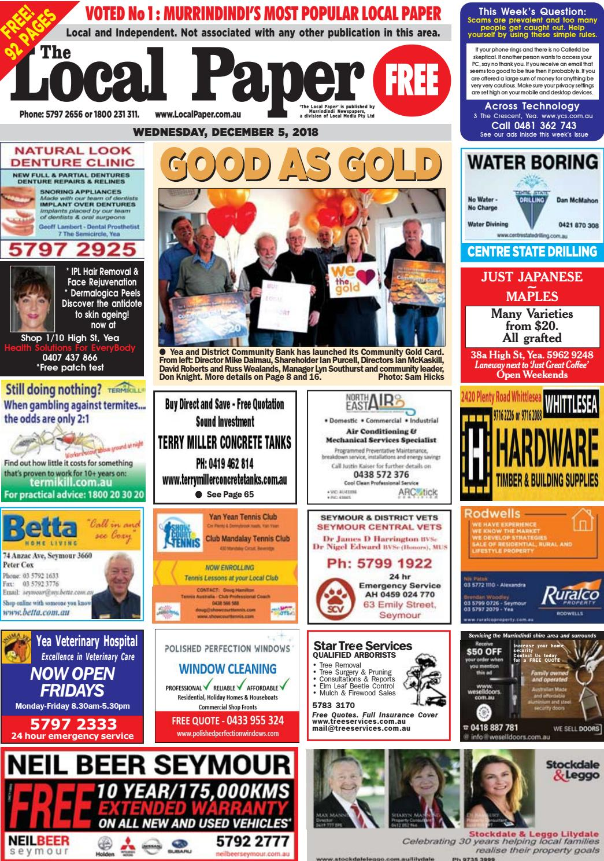 481aeae7e553 The Local Paper. December 5