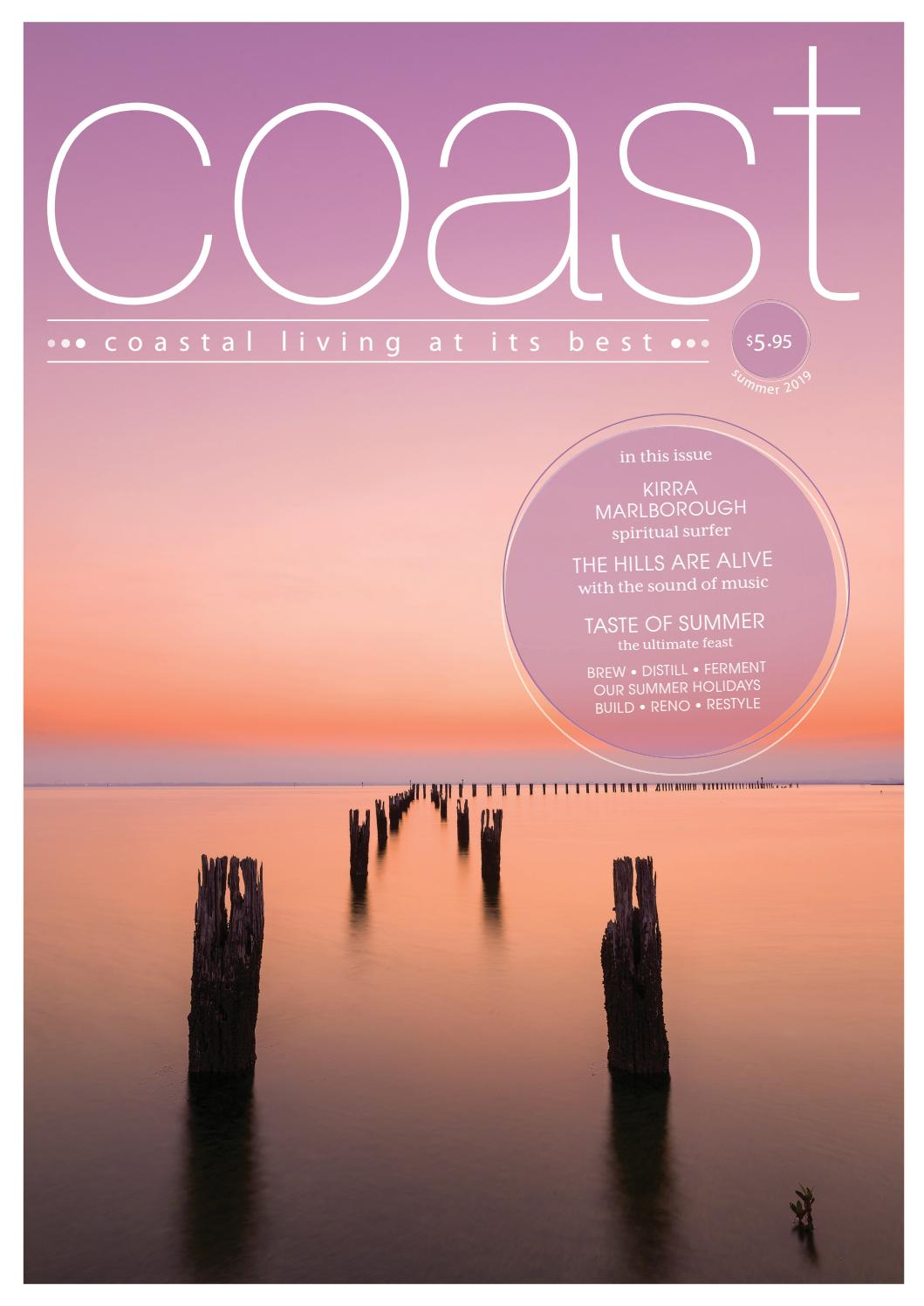 57b1e8fcdde Coast Magazine Summer 2019 Edition 53 by Coast Media Pty Ltd - issuu