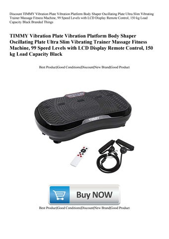 Discount TIMMY Vibration Plate Vibration Platform Body Shaper