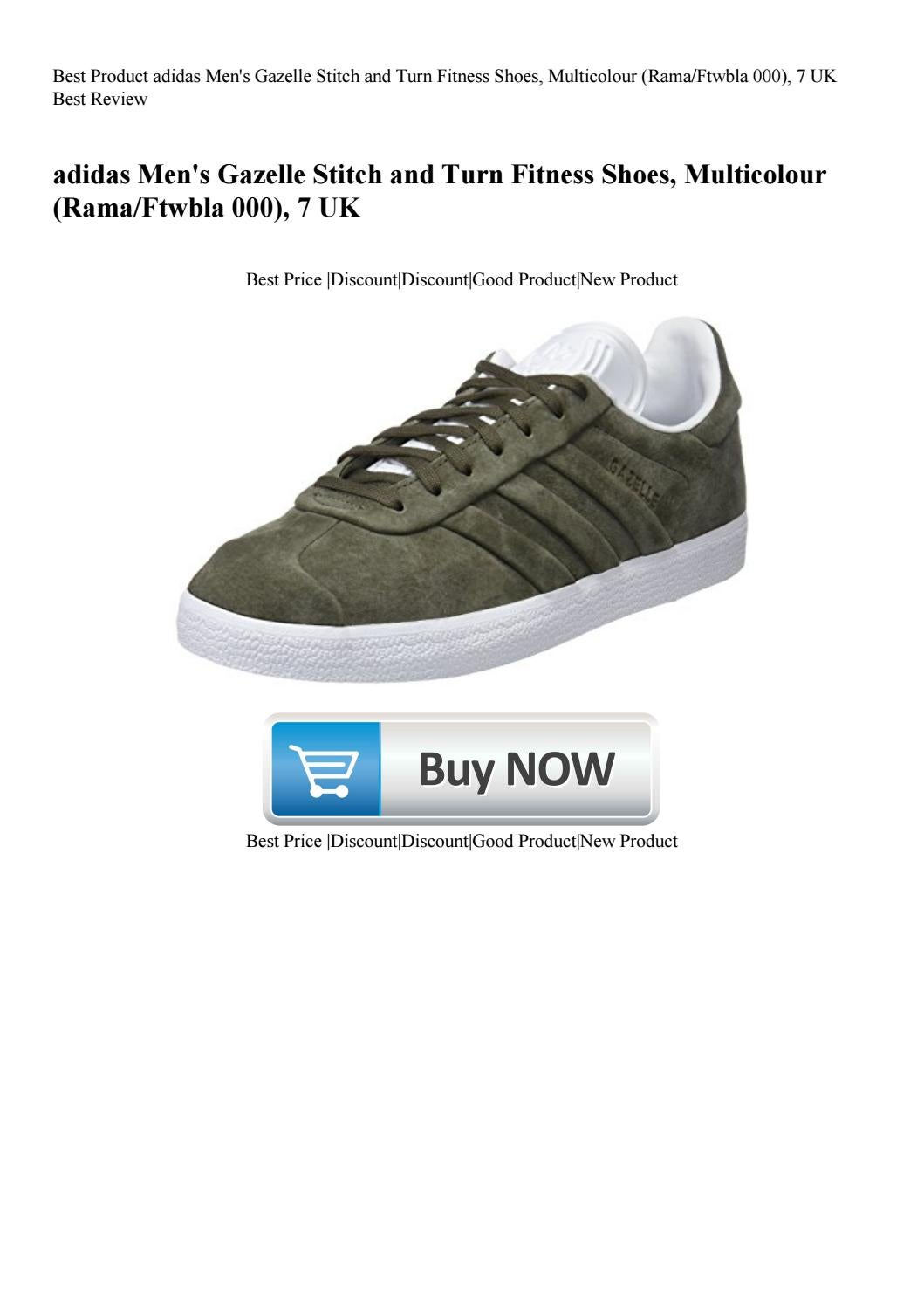 | adidas Gazelle Stitch and Turn Mens Shoes Raw