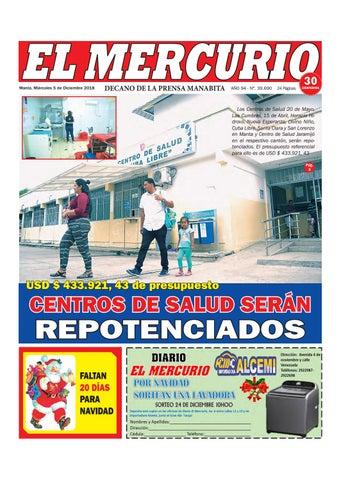 MIERCOLES 05 DE DICIEMBRE DE 2018 by Diario El mercurio - issuu df4412ce7fe
