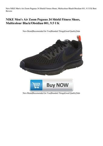 1c70feabf1ea5 New NIKE Men s Air Zoom Pegasus 34 Shield Fitness Shoes Multicolour  BlackObsidian 001 9.5 UK Best