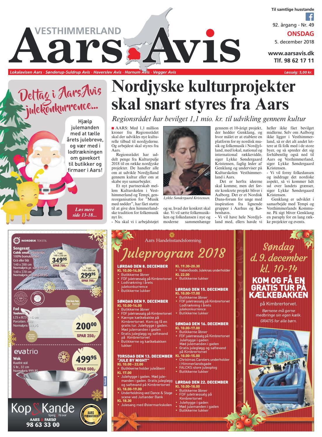 52c1aeb7e8c Aars Avis nr. 49 - 2018 by Aars Avis - issuu