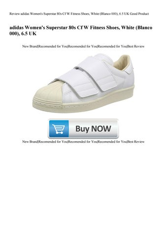100% authentic 47303 32123 Review adidas Women s Superstar 80s Cf W Fitness Shoes White (Blanco 000)  6.5 UK Good Product
