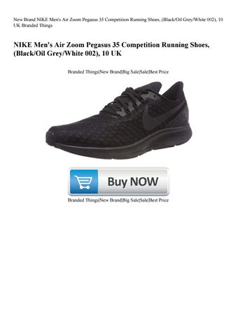 c192e1a24 New Brand NIKE Men's Air Zoom Pegasus 35 Competition Running Shoes  (BlackOil GreyWhite 002) 10 UK
