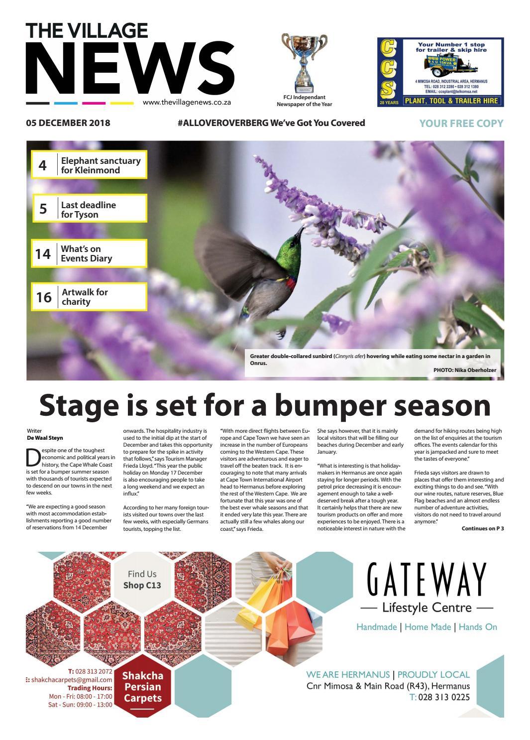 The Village NEWS 5 Dec - 11 Dec 2018 by The Village NEWS - issuu