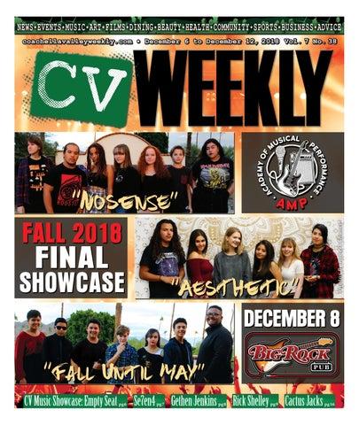 60adaf9ab87 Coachella Valley Weekly - December 6 to December 12, 2018 Vol. 7 No ...