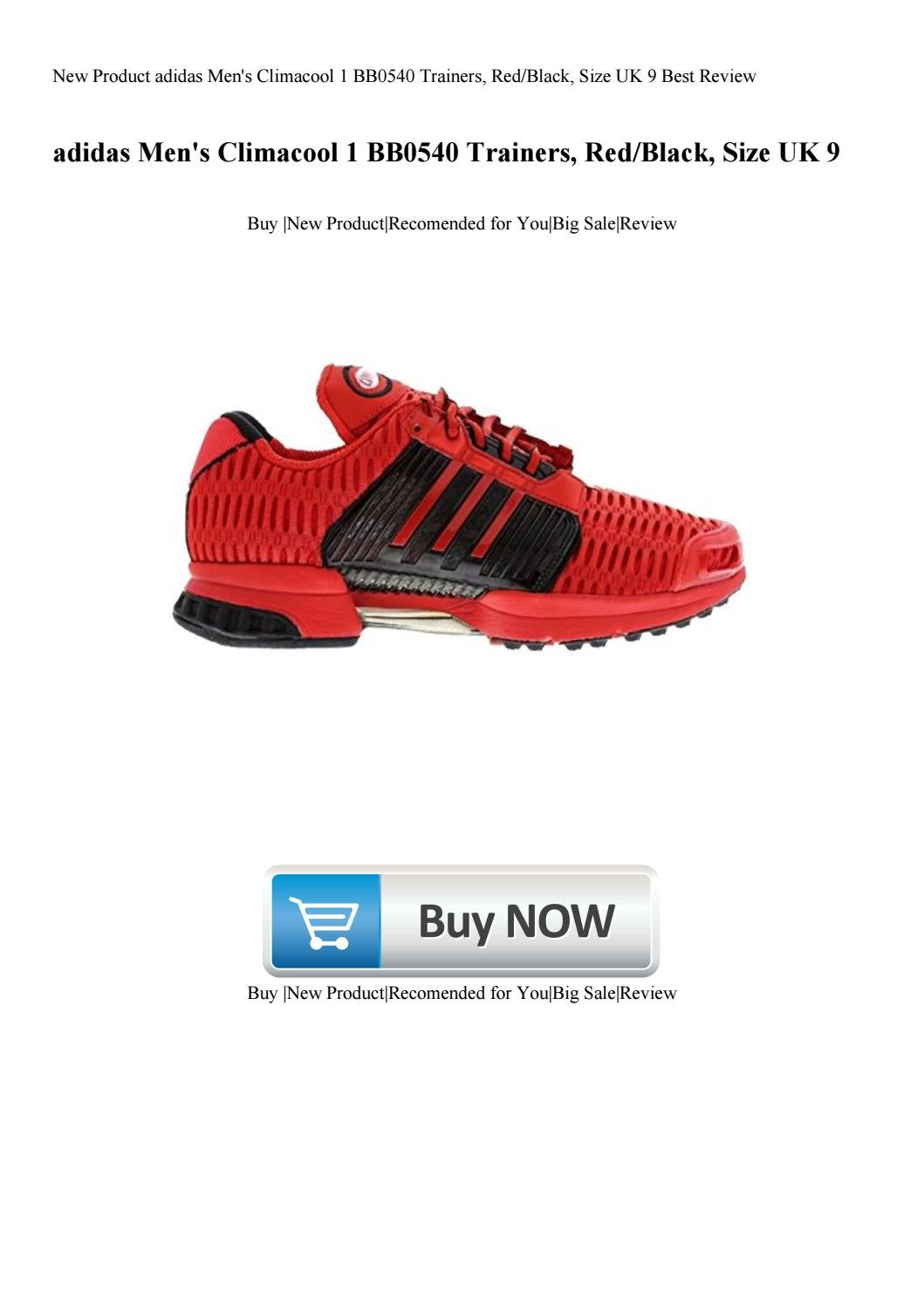 new products 55dcd eddb7 New Product adidas Men's Climacool 1 BB0540 Trainers ...