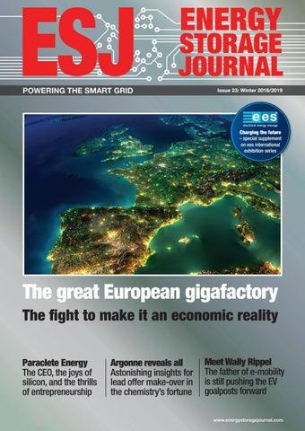 Energy Storage Journal  Winter, Issue 23