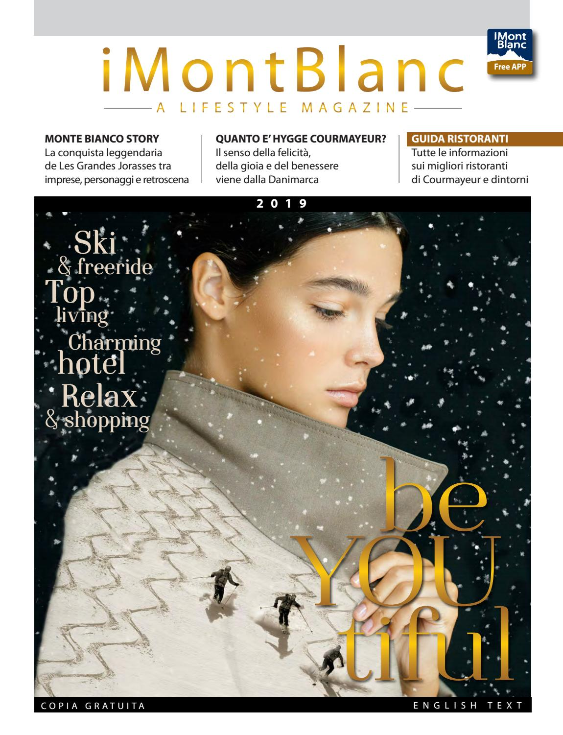 iMontBlanc MAGAZINE Winter 2018 19 - Courmayeur by Gianluca Martinelli -  issuu 0e1848ee5279