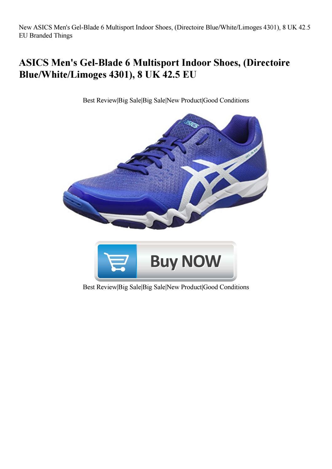 77be3d1012 New ASICS Men's Gel-Blade 6 Multisport Indoor Shoes (Directoire ...