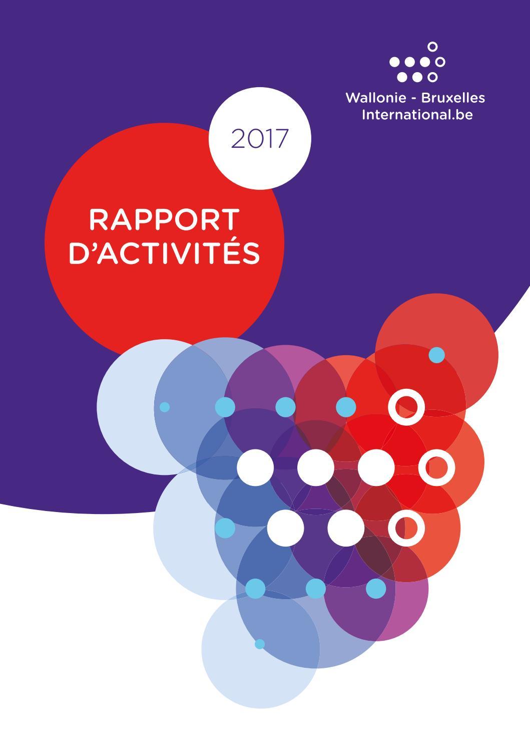 Rapport d activités 2017 de Wallonie-Bruxelles International by  Wallonie-Bruxelles International - issuu 8f2f6347a64d