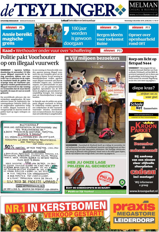TL week 49 18 by Uitgeverij Verhagen issuu