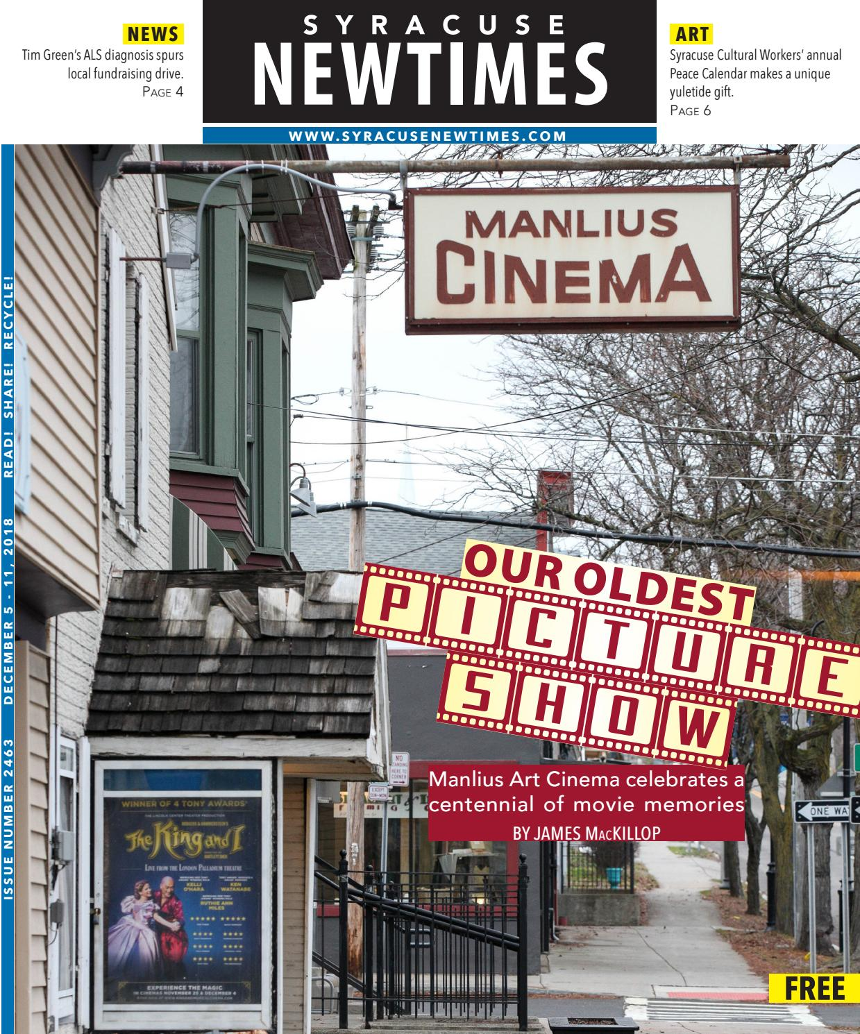 Groovy Syracuse New Times 12 5 18 By Syracuse New Times Issuu Download Free Architecture Designs Embacsunscenecom