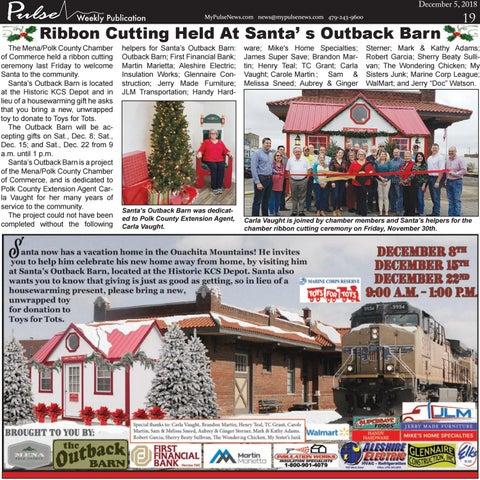 Page 19 of Ribbon Cutting at Santa's Outback Barn