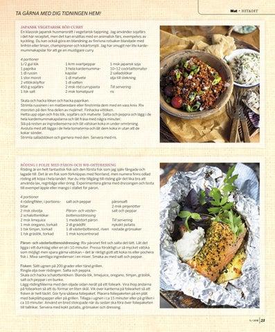 Page 21 of MAT. Gatusmaker från hela världen