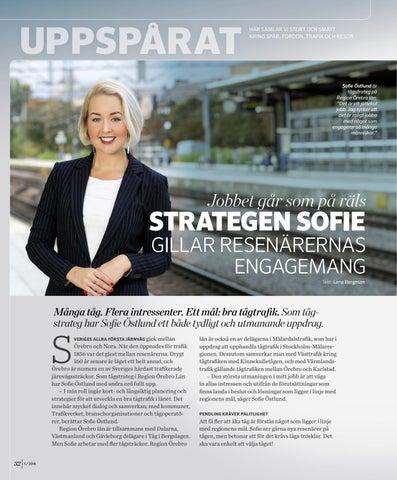 Page 32 of Tågstrategen Sofie Östlund