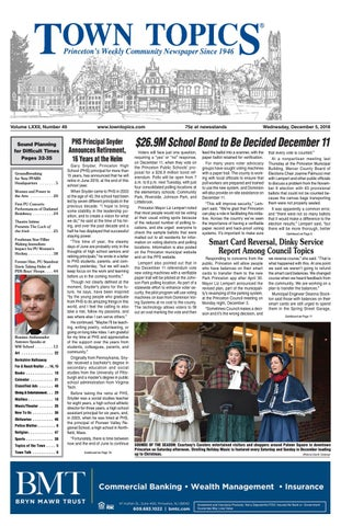 Town Topics Newspaper December 5 By Witherspoon Media Group Issuu
