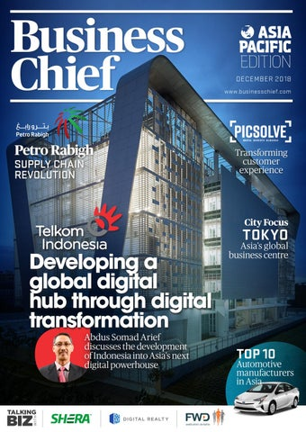 08ea5c309 Business Chief Asia Pacific Magazine – December 2018 by Business ...
