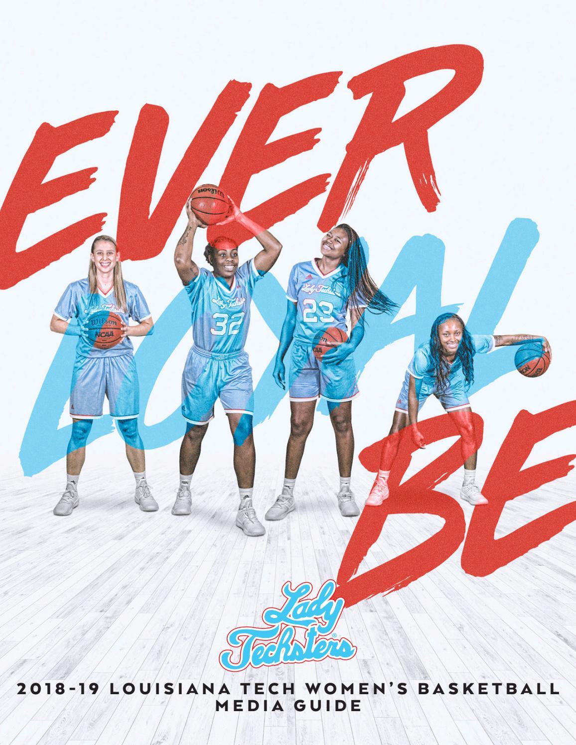 2018 19 Louisiana Tech Womens Basketball Media Guide By Athletics