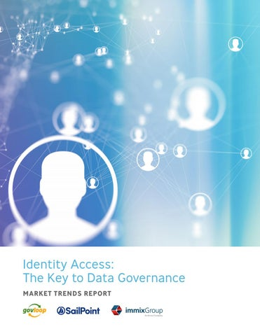 Identity Access: The Key to Data Governance by GovLoop - issuu