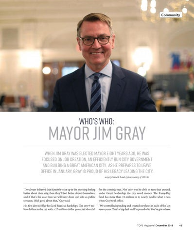 Page 45 of Who's Who: Mayor Jim Gray