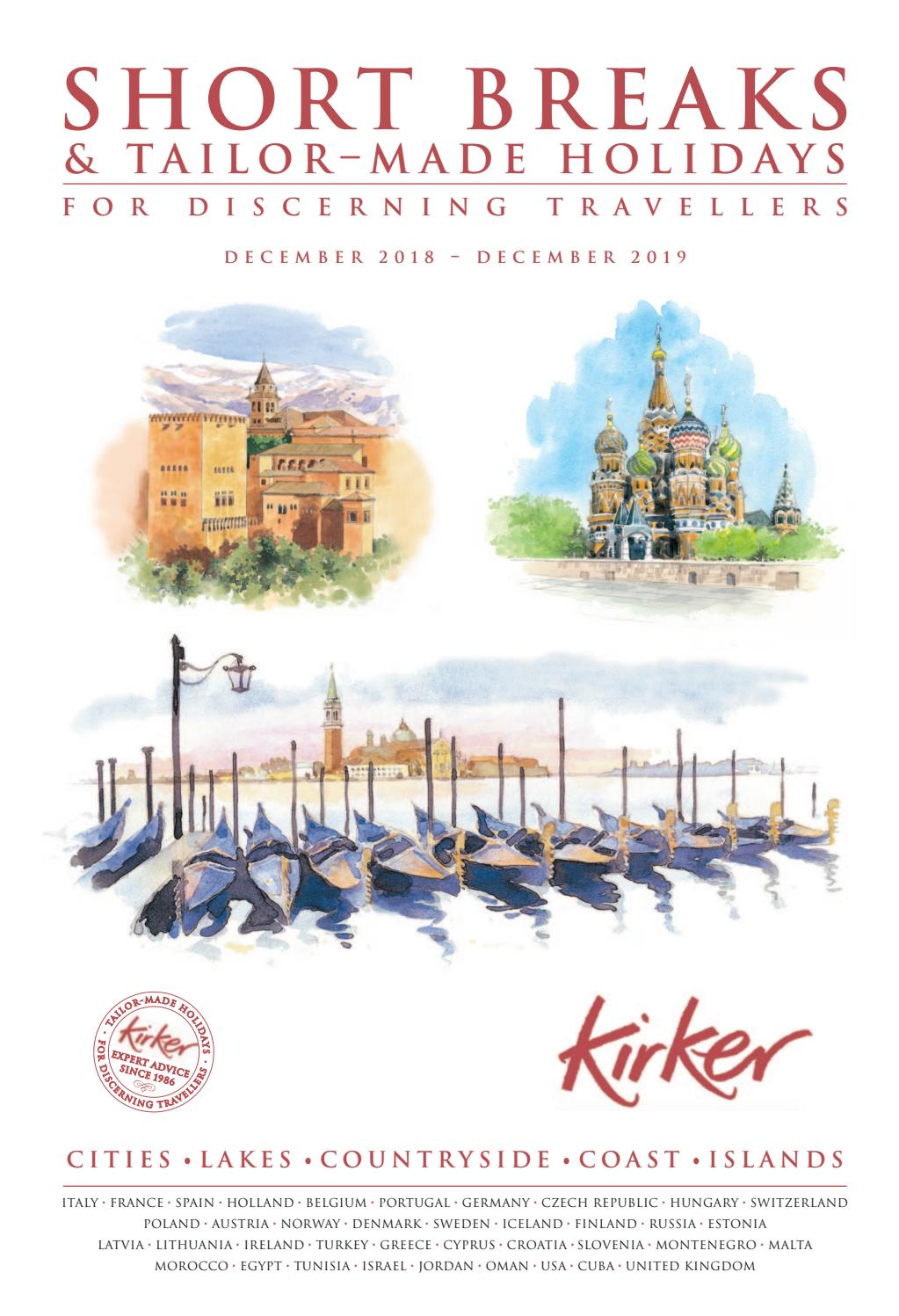 1c1ad8ad16f0 Short Breaks   Tailor-made Holidays For Discerning Travellers 2019   Kirker  Holidays by Kirker Holidays - issuu