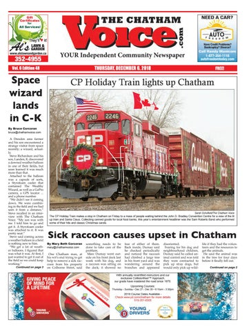 The Chatham Voice Dec 6 2018 By Chatham Voice Issuu