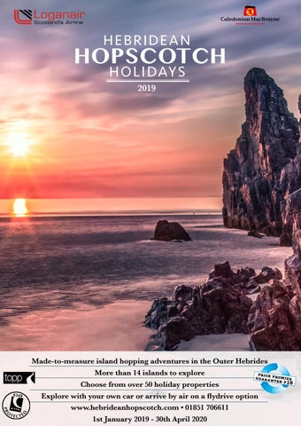Hebridean Hopscotch 2019 Brochure by Cala Hotels and